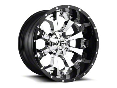 Fuel Wheels Assault Matte Black Milled 6-Lug Wheel - 22x12 (99-19 Silverado 1500)