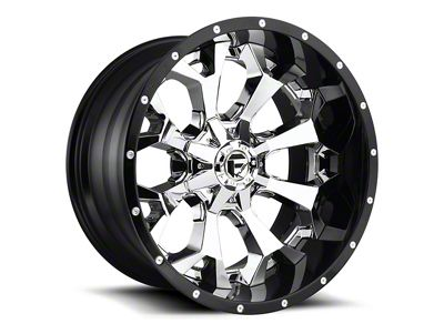 Fuel Wheels Assault Matte Black Milled 6-Lug Wheel - 22x14 (99-18 Silverado 1500)
