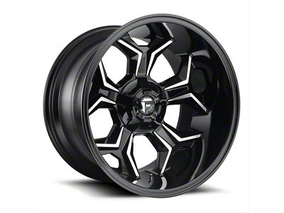 Fuel Wheels Avenger Gloss Black Machined 6-Lug Wheel - 20x12 (99-18 Silverado 1500)