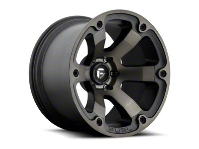 Fuel Wheels Beast Black Machined 6-Lug Wheel - 20x12 (99-18 Silverado 1500)