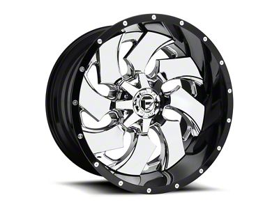 Fuel Wheels Cleaver 2-Piece Chrome 6-Lug Wheel - 20x12 (99-18 Silverado 1500)