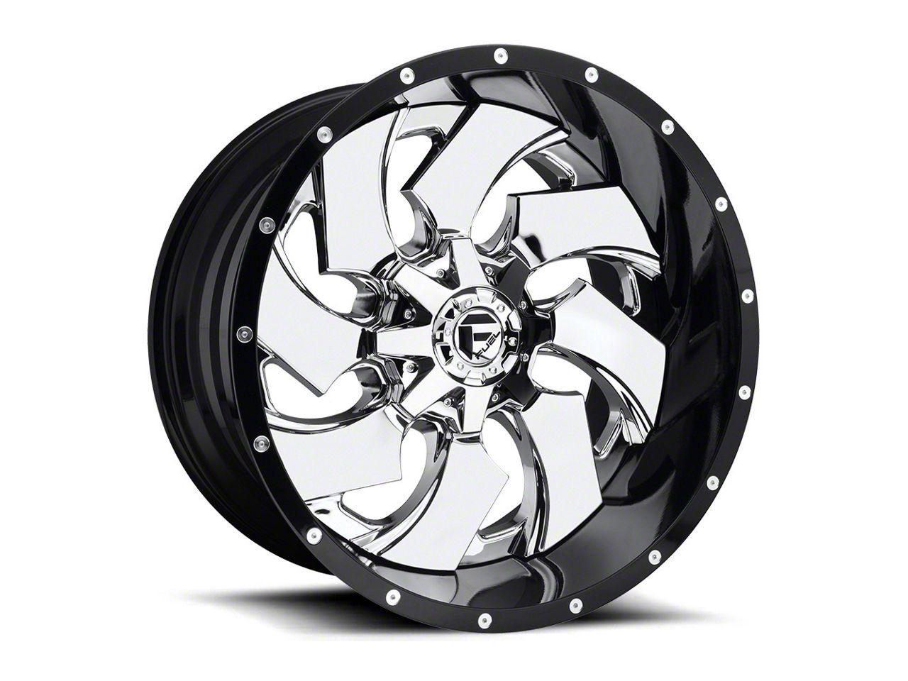 Fuel Wheels Cleaver Chrome 6-Lug Wheel - 20x10 (99-18 Silverado 1500)