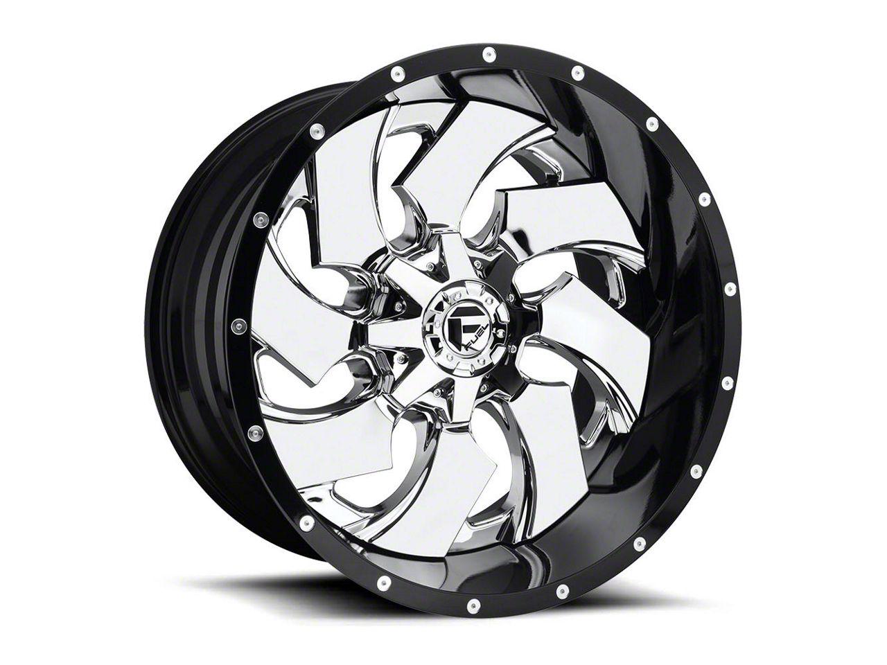 Fuel Wheels Cleaver Chrome 6-Lug Wheel - 24x12 (99-18 Silverado 1500)