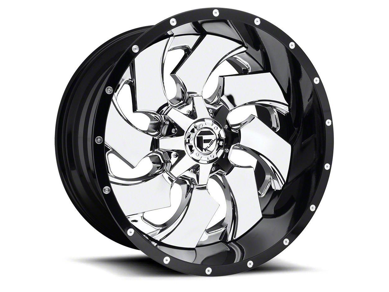 Fuel Wheels Cleaver Chrome 6-Lug Wheel - 24x16 (99-18 Silverado 1500)