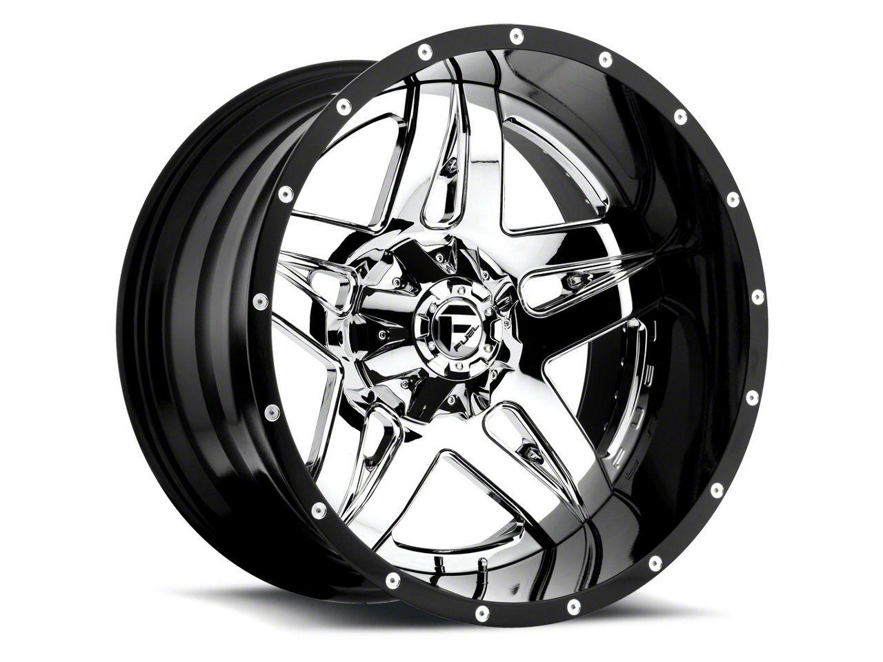 Fuel Wheels Full Blown Chrome 6-Lug Wheel - 20x10 (99-18 Silverado 1500)