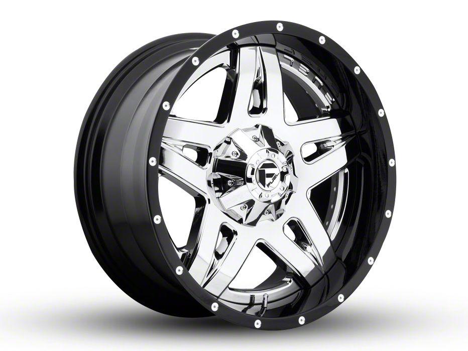 Fuel Wheels Full Blown Chrome 6-Lug Wheel - 20x12 (99-18 Silverado 1500)
