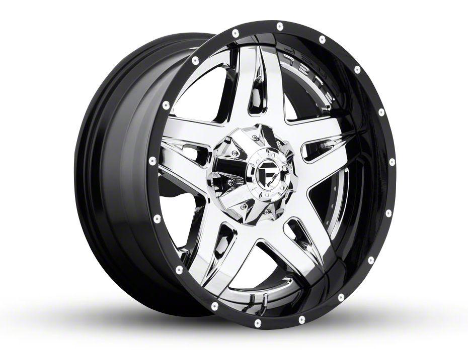 Fuel Wheels Full Blown Chrome 6-Lug Wheel - 22x10 (99-18 Silverado 1500)