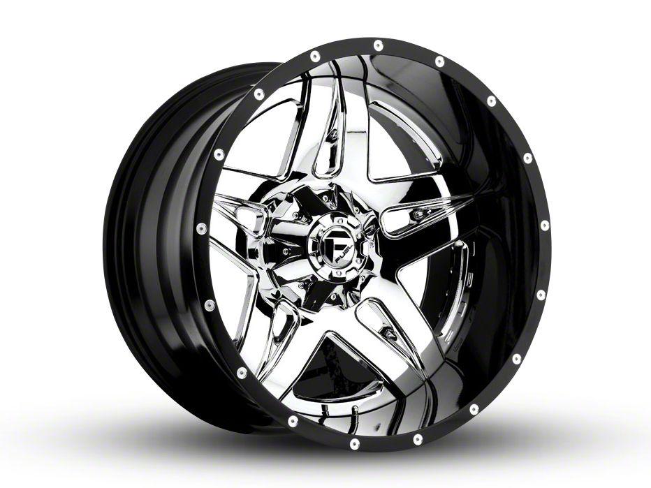 Fuel Wheels Full Blown Chrome 6-Lug Wheel - 22x14 (99-18 Silverado 1500)