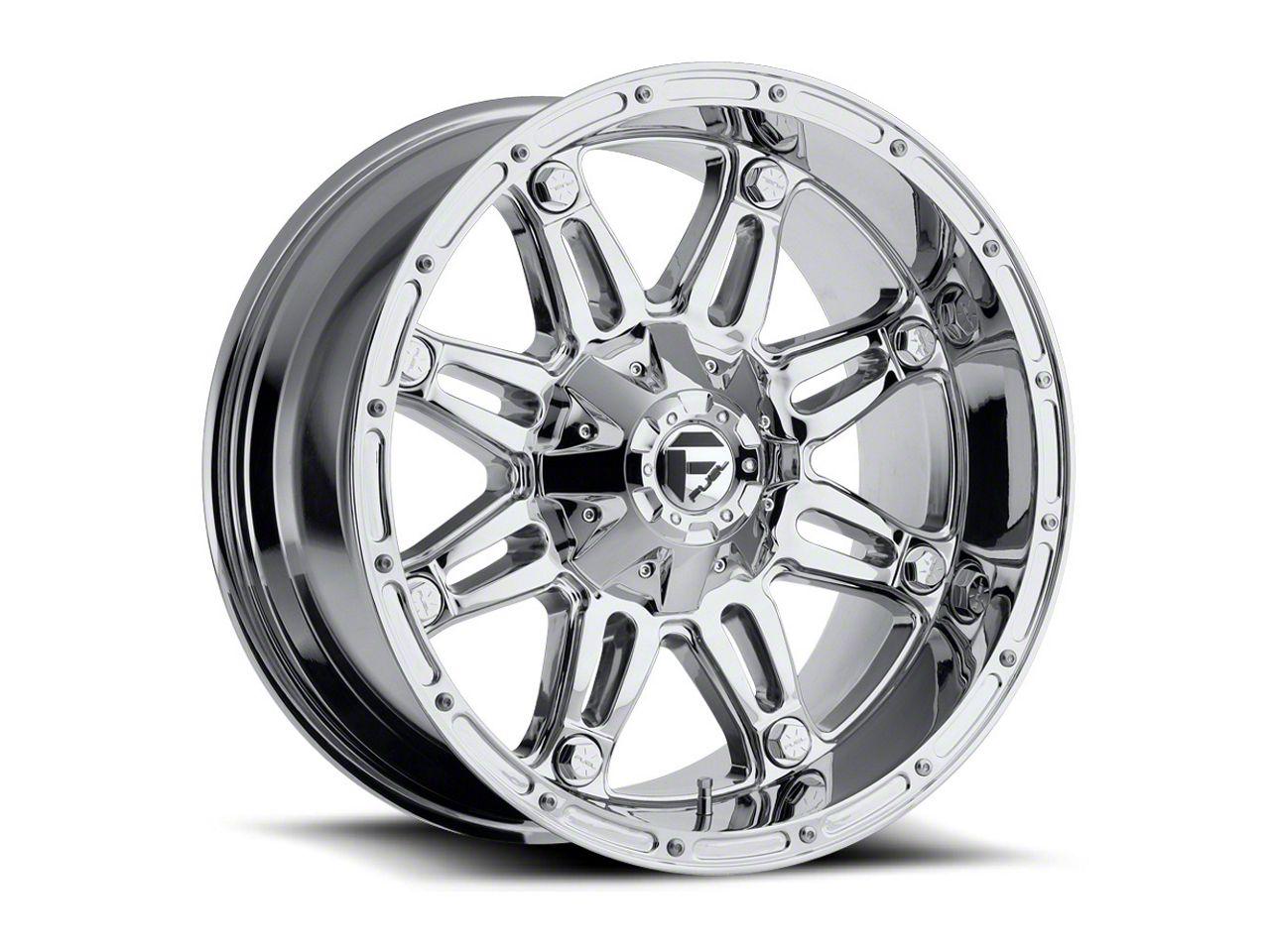 Fuel Wheels Hostage Chrome 6-Lug Wheel - 18x12 (99-18 Silverado 1500)