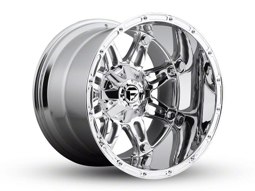 Fuel Wheels Hostage Chrome 6-Lug Wheel - 20x14 (99-18 Silverado 1500)