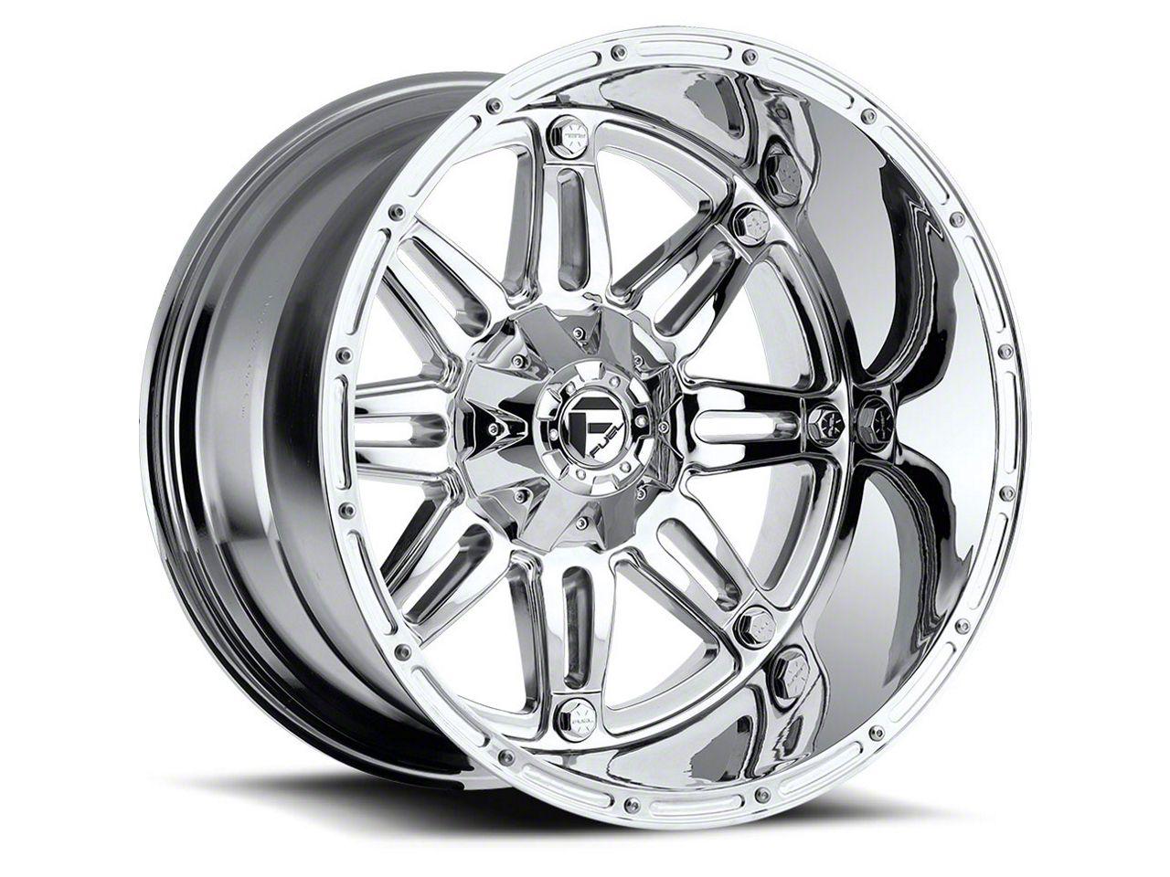 Fuel Wheels Hostage Chrome 6-Lug Wheel - 22x11 (99-18 Silverado 1500)
