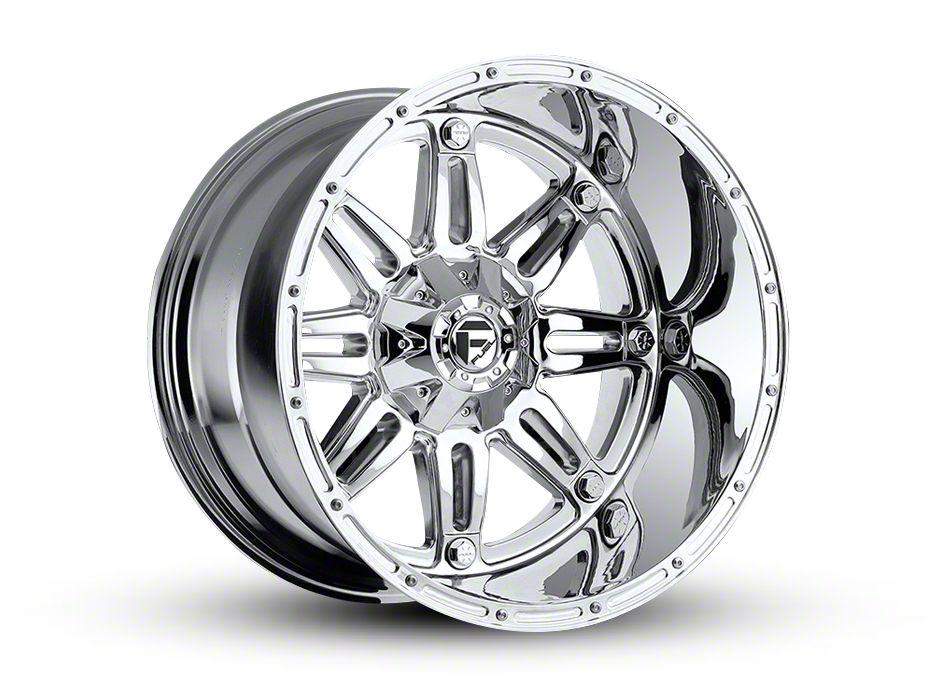 Fuel Wheels Hostage Chrome 6-Lug Wheel - 22x14 (99-18 Silverado 1500)
