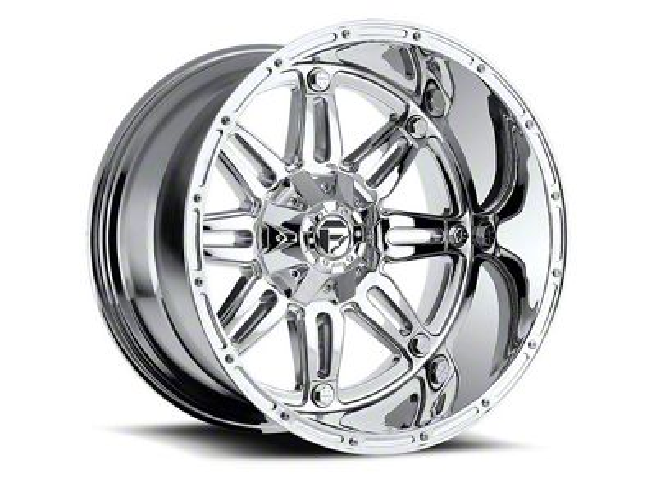 Fuel Wheels Hostage Chrome 6-Lug Wheel - 24x11 (99-18 Silverado 1500)