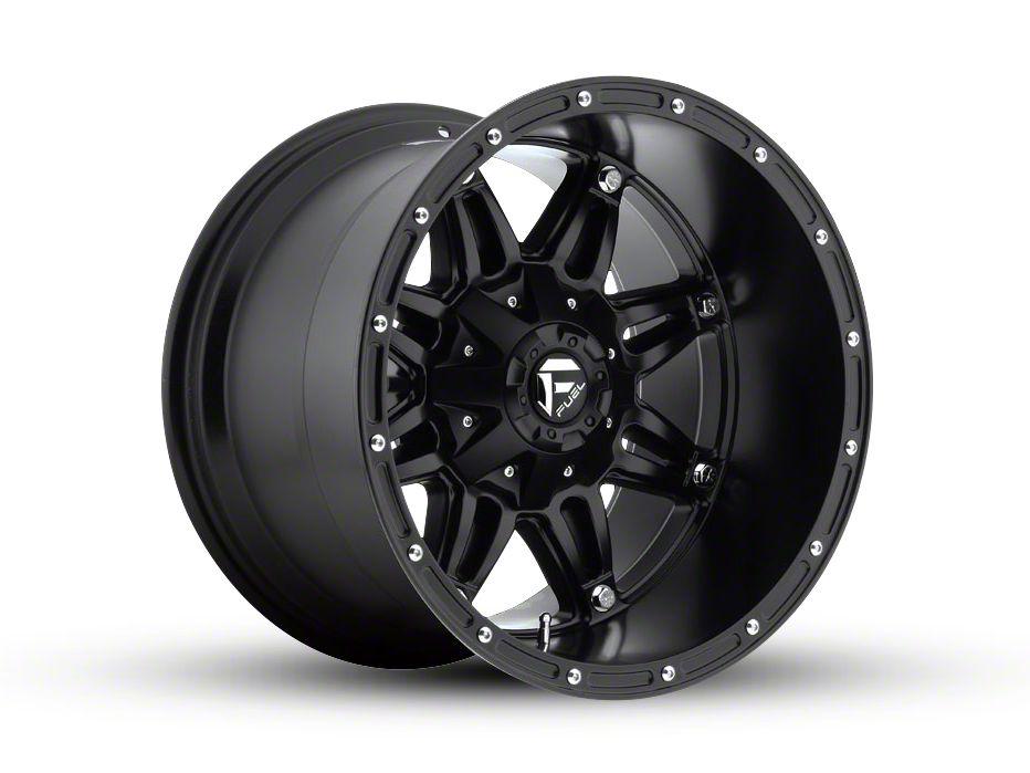 Fuel Wheels Hostage Matte Black 6-Lug Wheel - 18x12 (99-18 Silverado 1500)