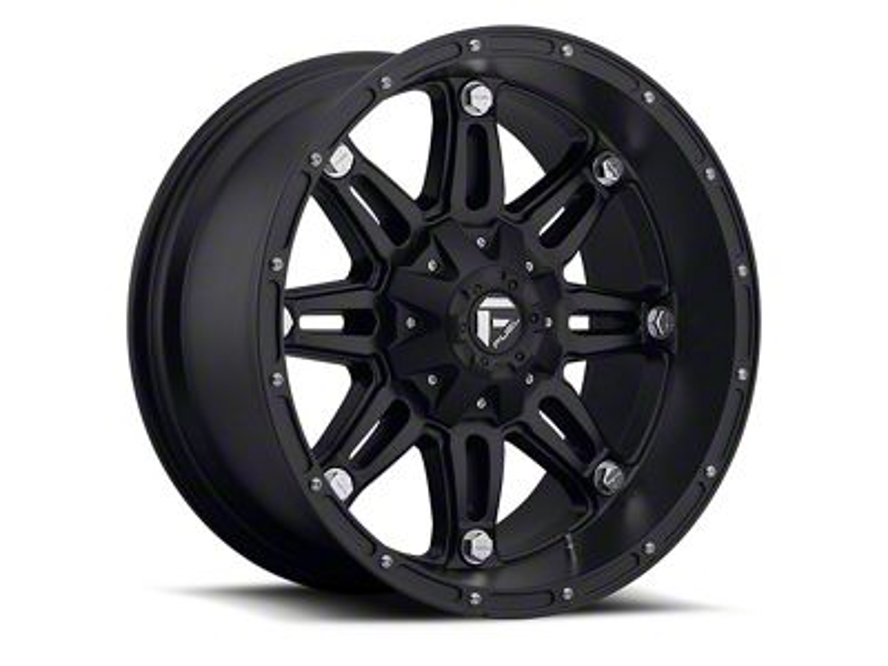 Fuel Wheels Hostage Matte Black 6-Lug Wheel - 20x12 (99-18 Silverado 1500)