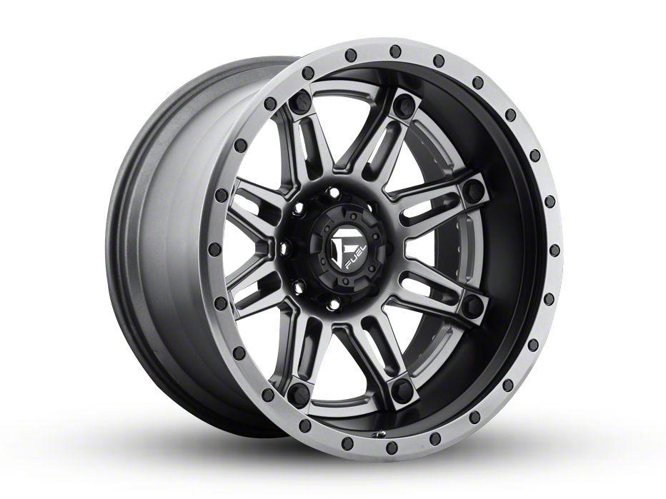 Fuel Wheels Hostage Matte Black 6-Lug Wheel - 22x10 (99-18 Silverado 1500)