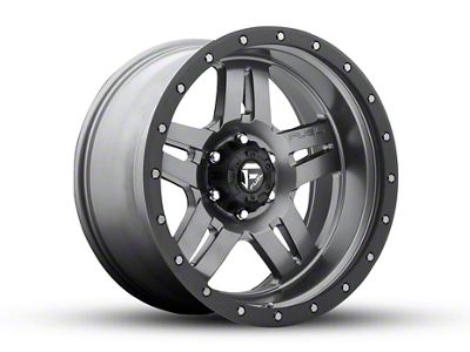 Fuel Wheels Hostage Matte Black 6-Lug Wheel - 22x12 (99-18 Silverado 1500)