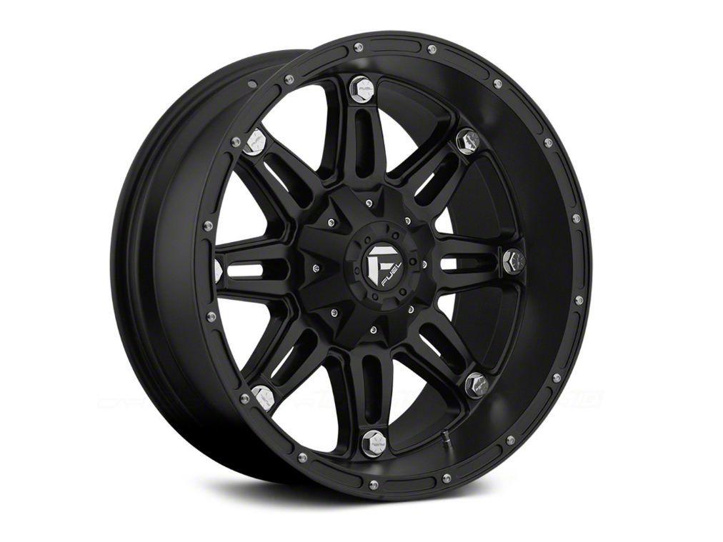 Fuel Wheels Hostage Matte Black 6-Lug Wheel - 24x11 (99-18 Silverado 1500)