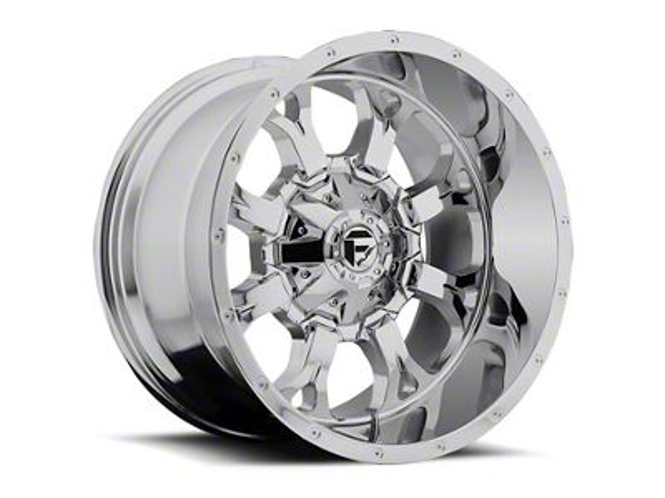 Fuel Wheels Krank Chrome 6-Lug Wheel - 22x11 (99-18 Silverado 1500)