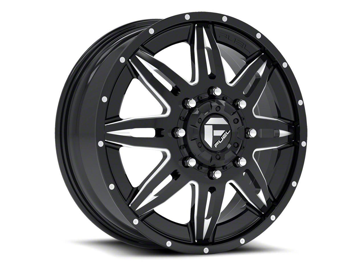 Fuel Wheels Lethal Black Milled 6-Lug Wheel - 22x10 (99-18 Silverado 1500)