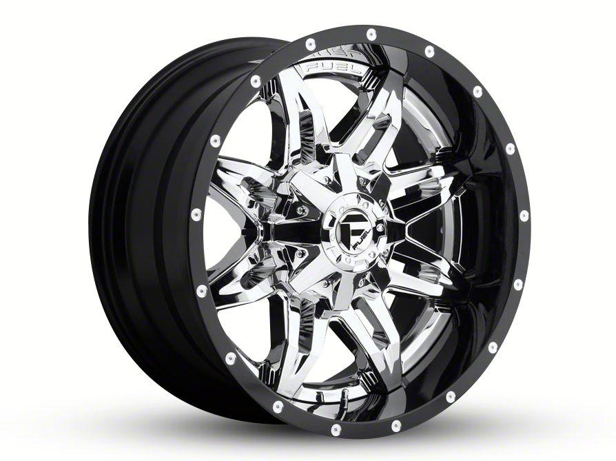 Fuel Wheels Lethal Chrome 6-Lug Wheel - 20x10 (99-18 Silverado 1500)