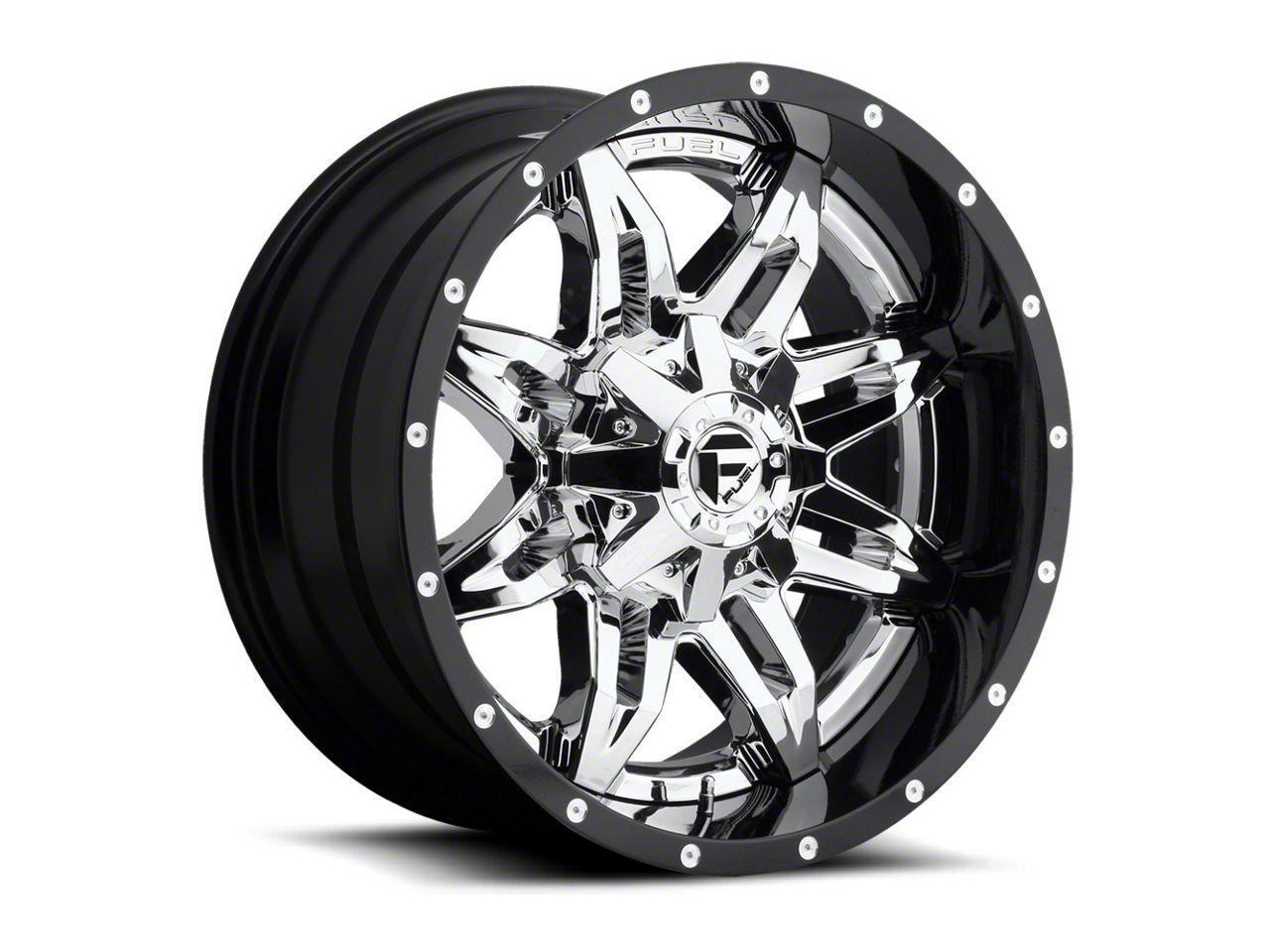 Fuel Wheels Lethal Chrome 6-Lug Wheel - 20x12 (99-18 Silverado 1500)