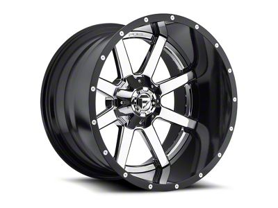 Fuel Wheels Maverick 2-Piece Chrome 6-Lug Wheel - 20x12 (99-18 Silverado 1500)