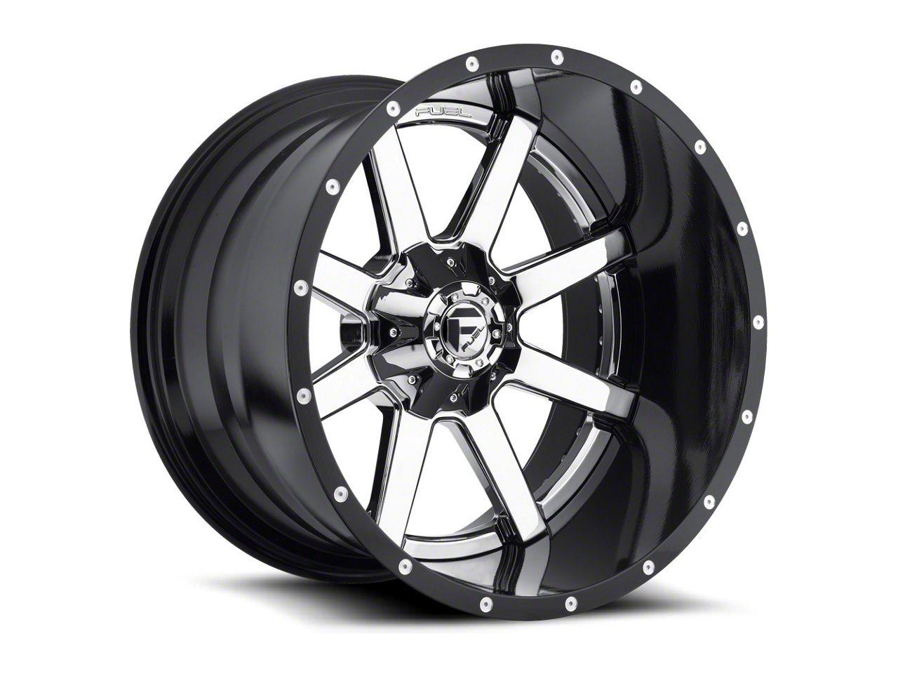Fuel Wheels Maverick 2-Piece Chrome 6-Lug Wheel - 20x14 (99-18 Silverado 1500)