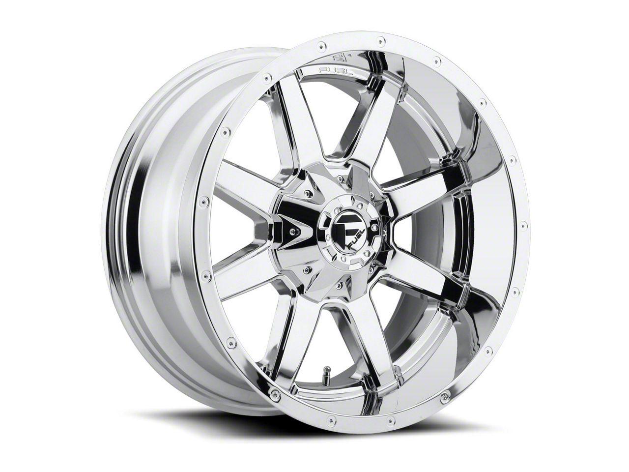 Fuel Wheels Maverick Chrome 6-Lug Wheel - 18x12 (99-18 Silverado 1500)