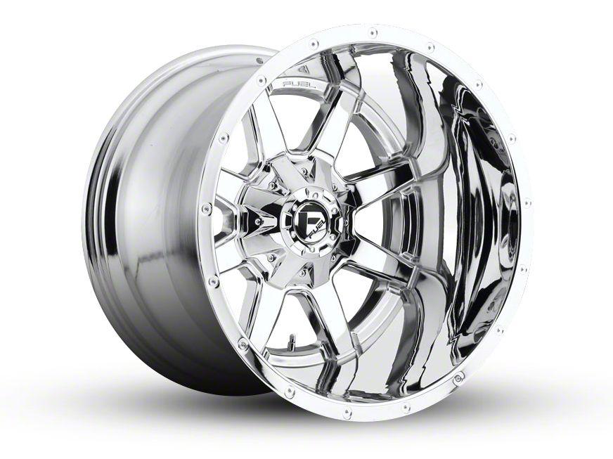 Fuel Wheels Maverick Chrome 6-Lug Wheel - 20x14 (99-18 Silverado 1500)