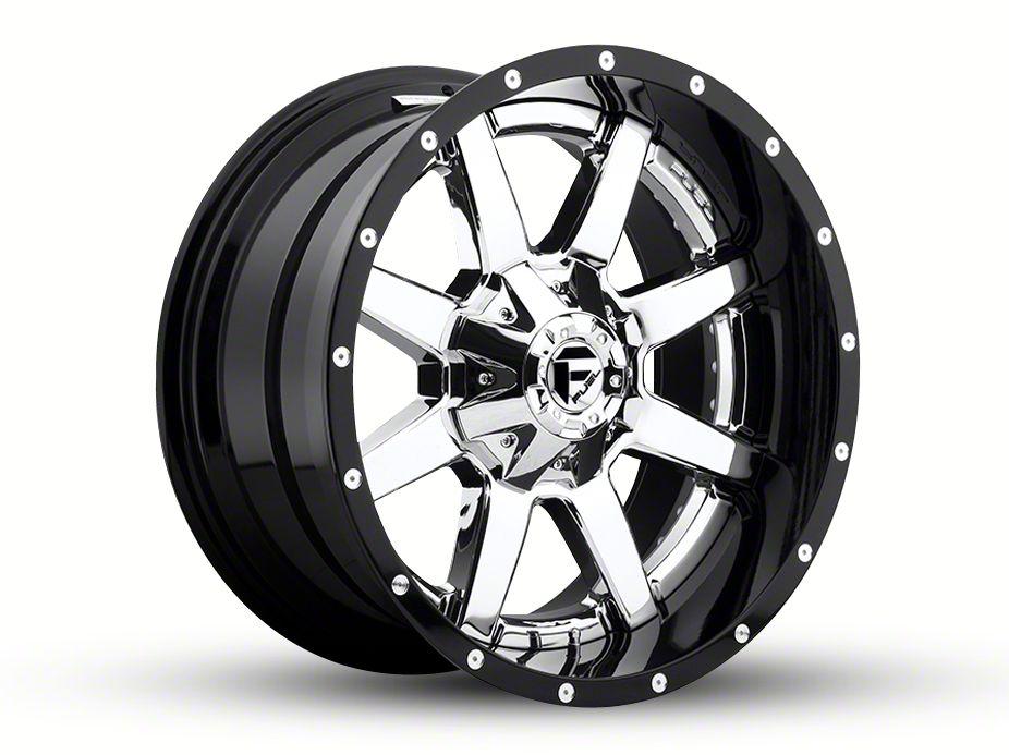 Fuel Wheels Maverick Chrome 6-Lug Wheel - 24x12 (99-18 Silverado 1500)