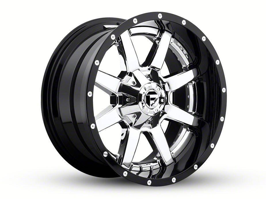 Fuel Wheels Maverick Chrome 6-Lug Wheel - 24x14 (99-18 Silverado 1500)
