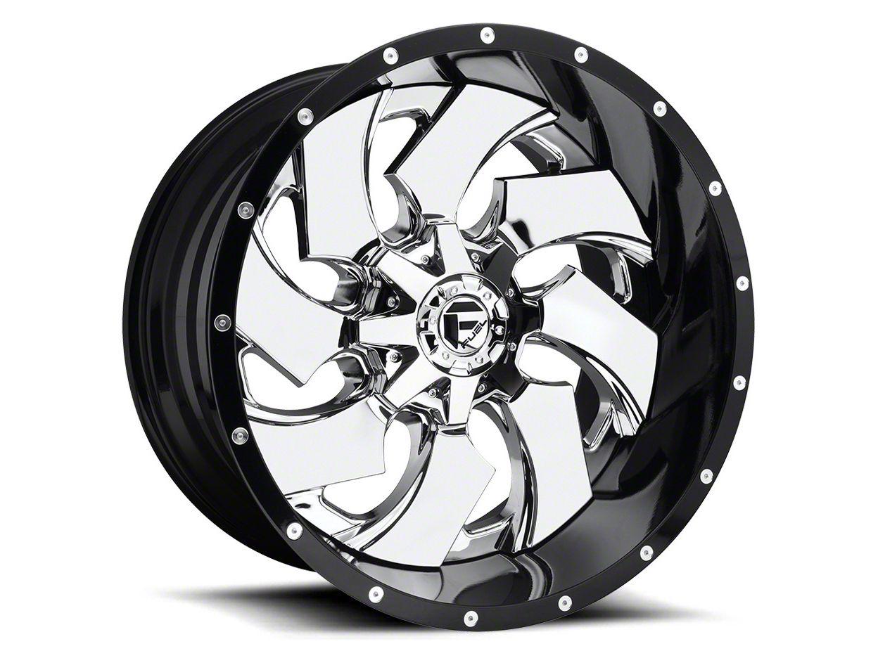 Fuel Wheels Maverick Chrome 6-Lug Wheel - 24x16 (99-18 Silverado 1500)