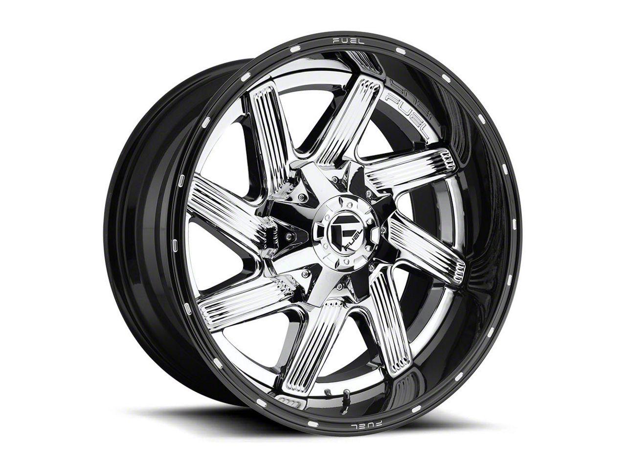 Fuel Wheels Moab Chrome 6-Lug Wheel - 20x14 (99-18 Silverado 1500)