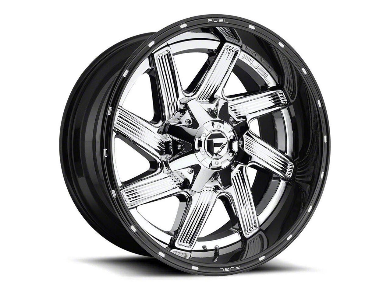 Fuel Wheels Moab Chrome 6-Lug Wheel - 22x10 (99-18 Silverado 1500)