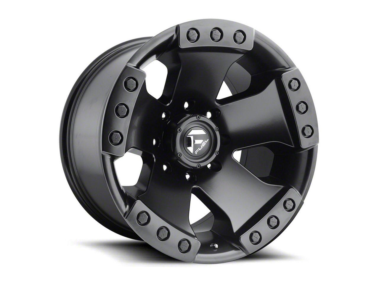Fuel Wheels Monsta Matte Black 6-Lug Wheel - 20x10 (99-18 Silverado 1500)