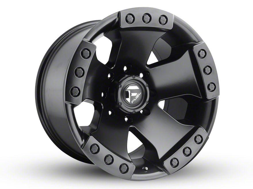 Fuel Wheels Monsta Matte Black 6-Lug Wheel - 20x12 (99-18 Silverado 1500)