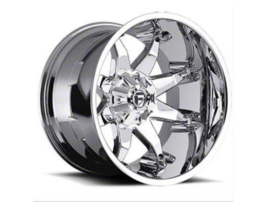 Fuel Wheels Octane Chrome 6-Lug Wheel - 20x12 (99-18 Silverado 1500)
