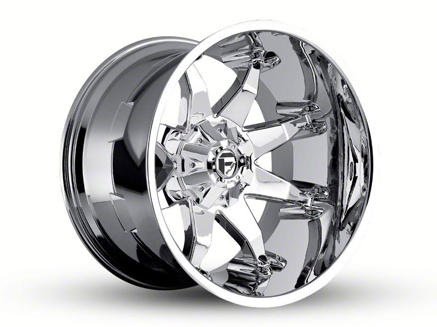 Fuel Wheels Octane Chrome 6-Lug Wheel - 22x14 (99-18 Silverado 1500)