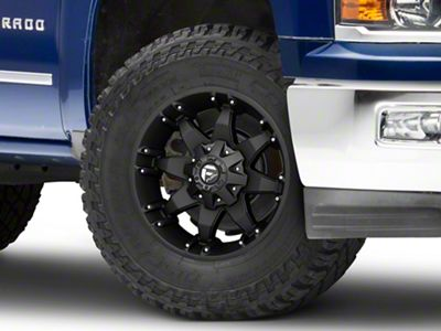 Fuel Wheels Octane Matte Black 6-Lug Wheel - 18x9 (99-18 Silverado 1500)