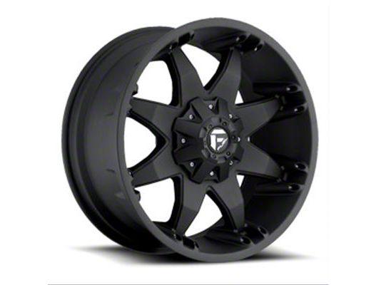 Fuel Wheels Octane Matte Black 6-Lug Wheel - 22x14 (99-18 Silverado 1500)