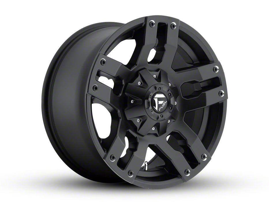 Fuel Wheels Pump Matte Black 6-Lug Wheel - 18x9 (99-18 Silverado 1500)