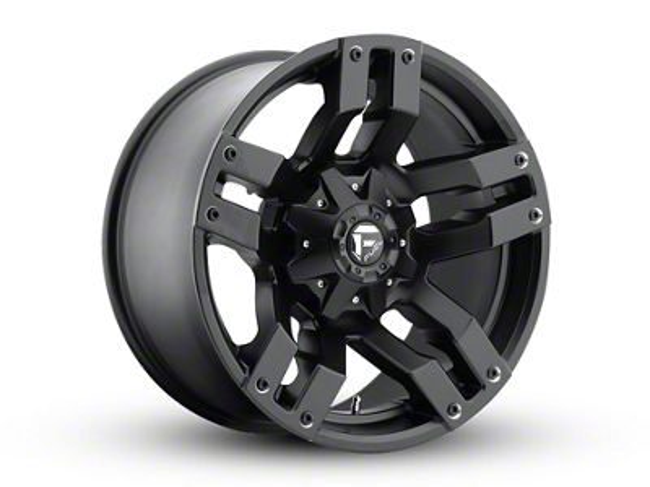 Fuel Wheels Pump Matte Black 6-Lug Wheel - 20x10 (99-18 Silverado 1500)