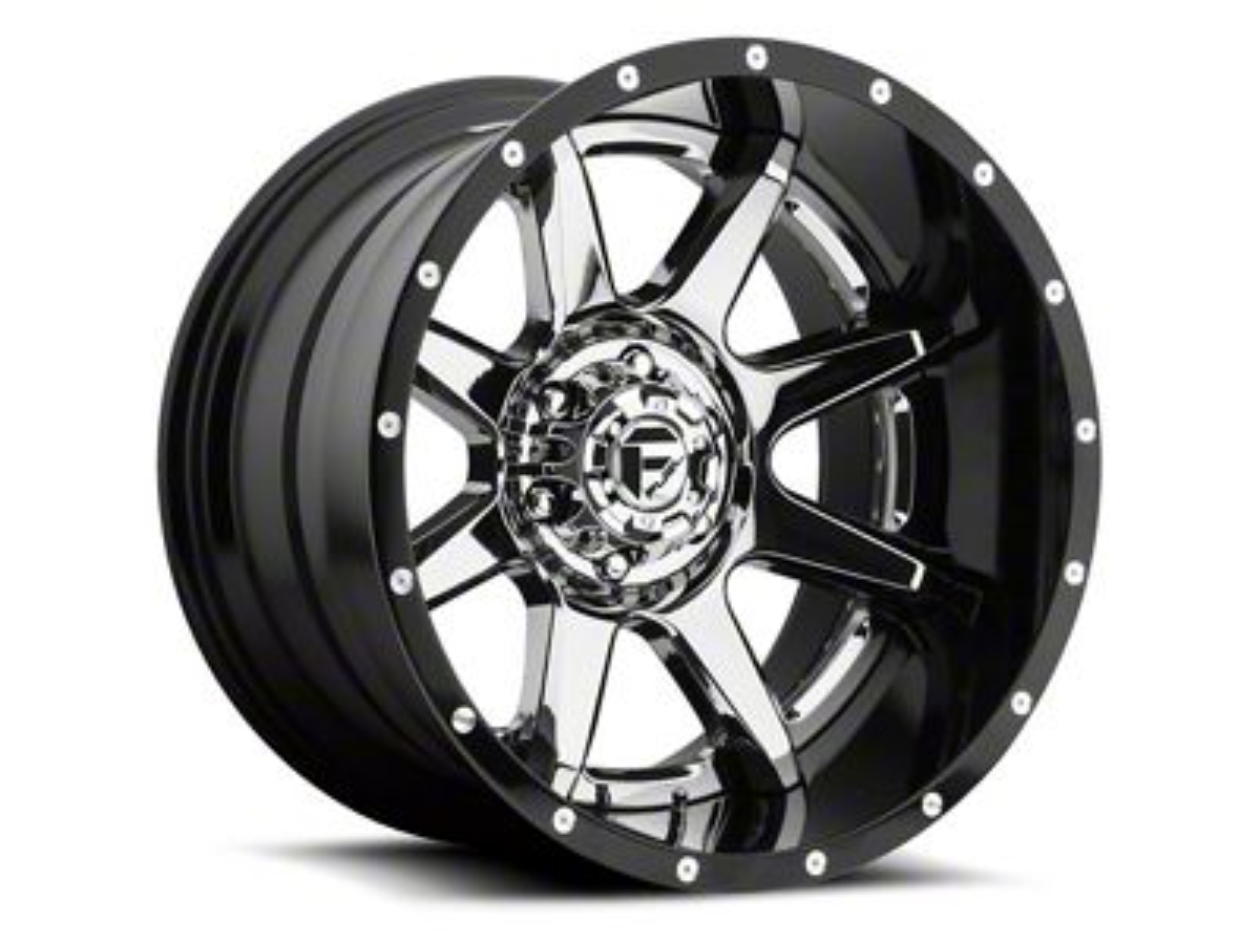 Fuel Wheels Rampage Chrome 6-Lug Wheel - 22x12 (99-18 Silverado 1500)