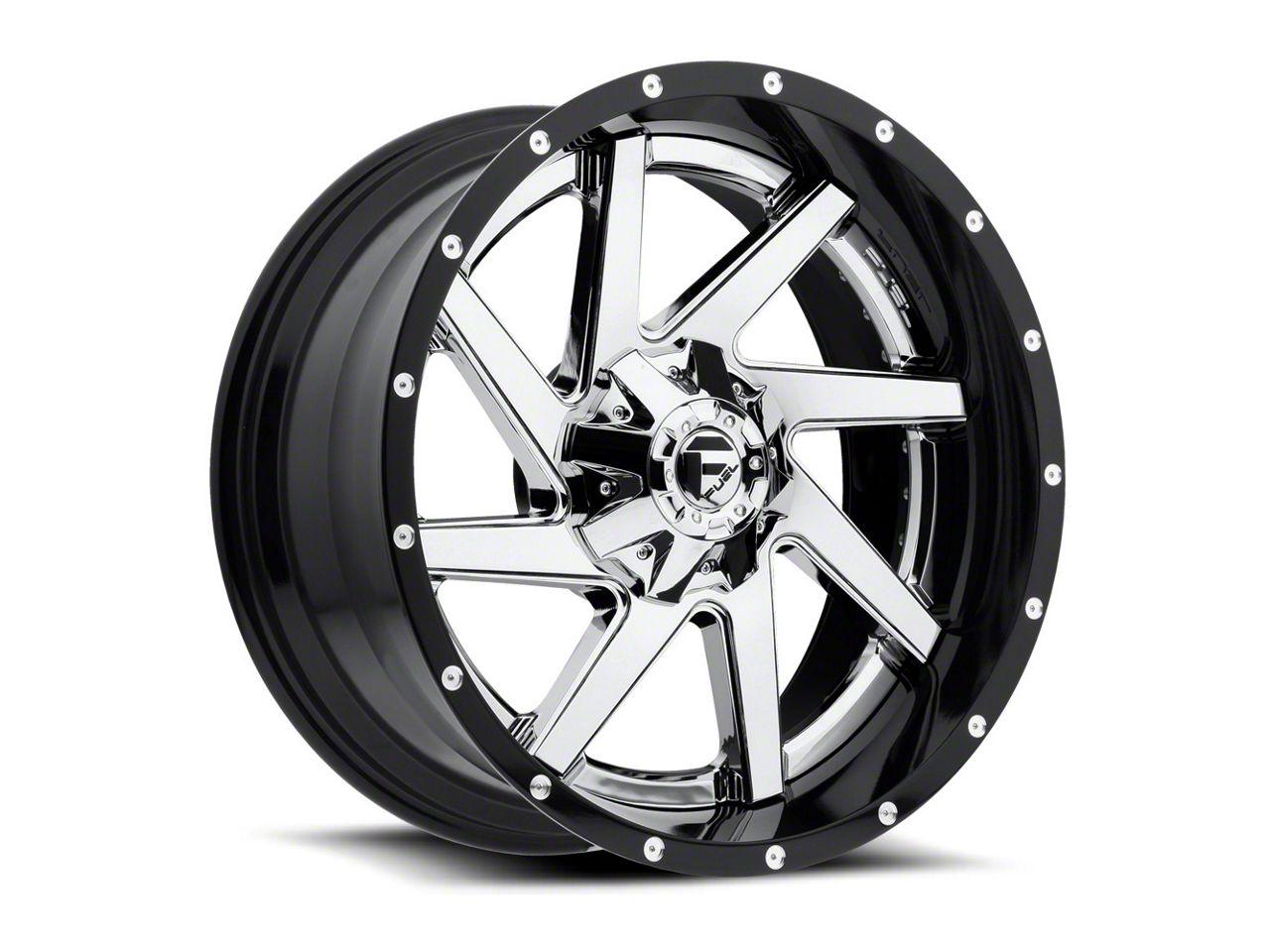 Fuel Wheels Renegade Chrome 6-Lug Wheel - 20x14 (99-18 Silverado 1500)
