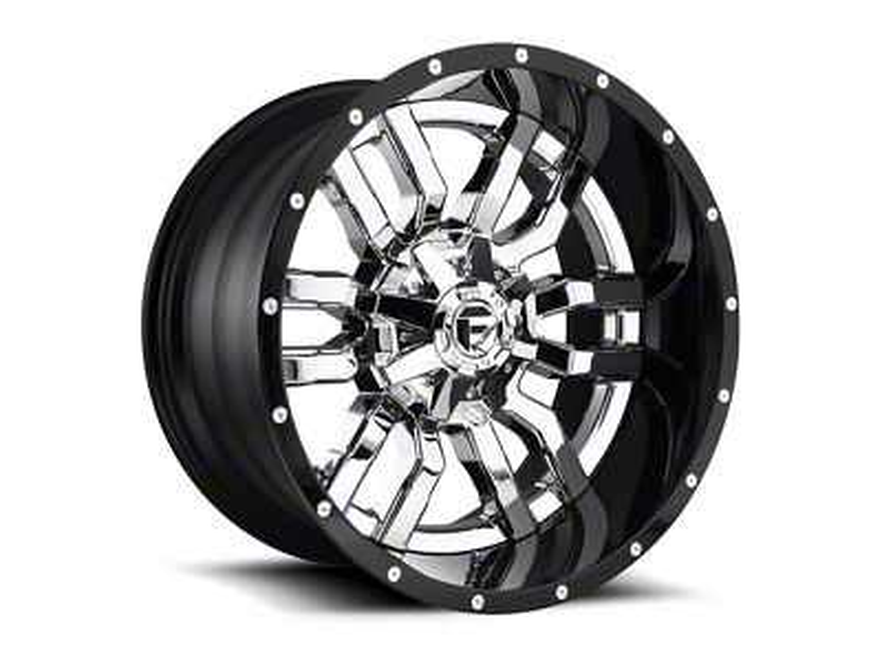 Fuel Wheels Sledge Chrome 6-Lug Wheel - 20x10 (99-18 Silverado 1500)
