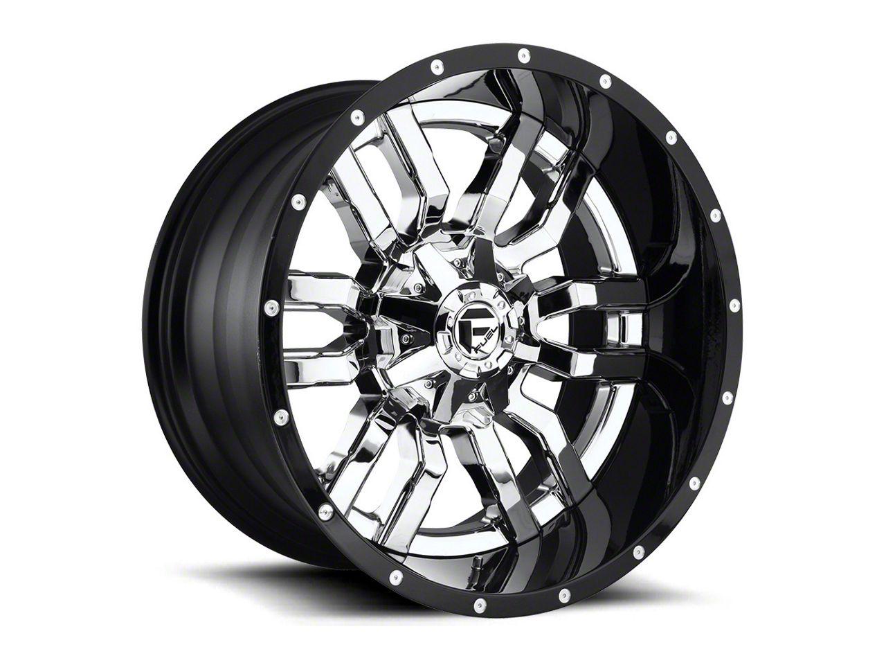 Fuel Wheels Sledge Chrome 6-Lug Wheel - 22x10 (99-18 Silverado 1500)