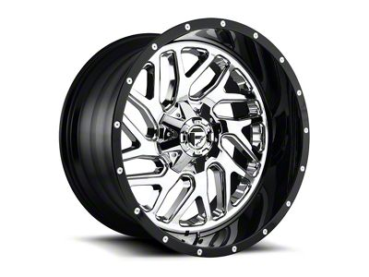 Fuel Wheels Triton Chrome 6-Lug Wheel - 22x10 (99-18 Silverado 1500)