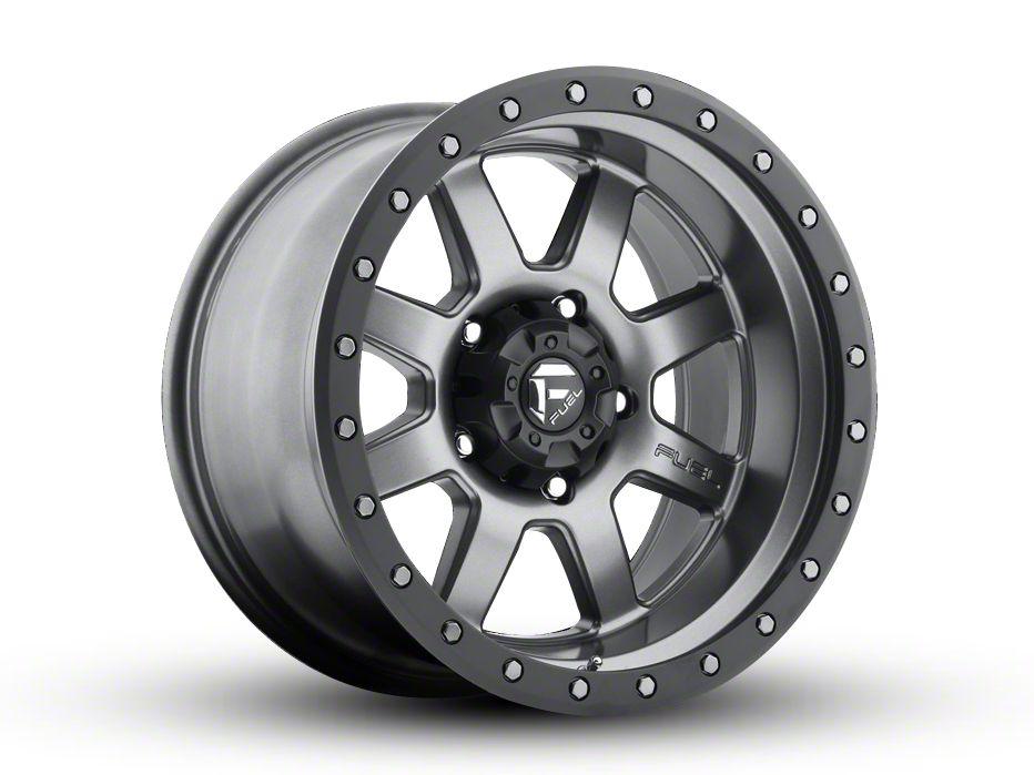 Fuel Wheels Trophy Gun Metal 6-Lug Wheel - 18x10 (99-18 Silverado 1500)