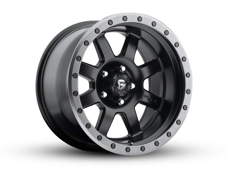Fuel Wheels Trophy Matte Black 6-Lug Wheel - 18x10 (99-18 Silverado 1500)